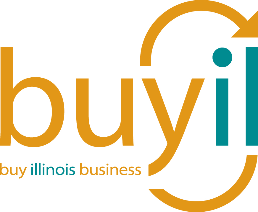 Buy Illinois Business Logo